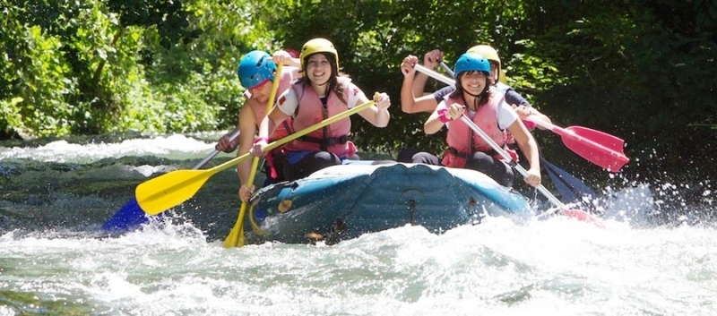 Rafting trips in umbria